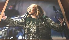 Adele Singer Hand Signed 11x14 Concert Photo Autographed COA