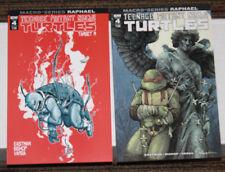 IDW TMNT Macroseries #4 Raphael TWO COVER SET - A & B - Eastman & Bishop