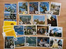 Girara - The X from Outer Space  - 20 German lobby cards 1967 - Sci-Fi - GUILA