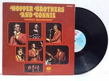 The Hoppers Hopper Brothers & Connie HIGHLY SEASONED LP Roger & Kirk Talley NM!