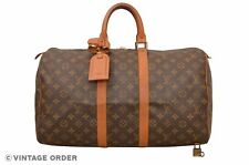 Louis Vuitton Monogram Keepall 45 Malletier Travel Bag M41428 - D02386