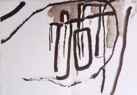 1964 Pierre Tal-Coat Lithograph for Derriere Le Miroir No. 148, Double Page