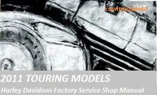 2011 Harley Davidson Touring Factory Service Shop / Repair CD Manual