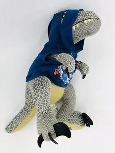 Build A Bear Jurassic World Blue Velociraptor w/ T-Shirt & Plays Music