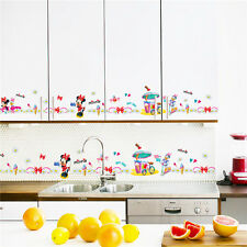 Mickey Minnie Mouse board Wall Stickers Decal Removable Kids Art Nursery Decor