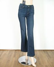 Paige Skyline Mid Rise Petite Boot Cut Jean in Nottingham 30 $179 9401 BM12