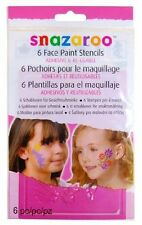 Snazaroo Face Paint Stencils - Girls Fantasy, Set of 6