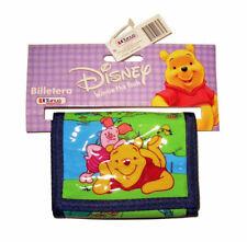 Licensed Winnie the Pooh Wallet Blue
