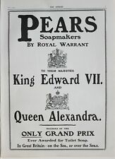 1902 Imprimé Annonce Poires Soapmakers