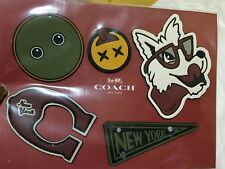 AUTHENTIC COACH VARSITY STICKER/PATCH