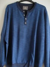 Ragman, Sweatshirt, Pulli, XXL (54/56, blau, neu