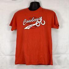 Alpine Cowboys Texas Baseball T-shirt Size Medium Condition Is 8/10