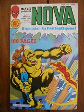 Semic MARVEL DC Comics FRANCE Spiderman BD LUG Super Heros NOVA n°72 Jan 1984