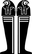 Sticker Egypte 107 Sarcophage - 27x45 cm
