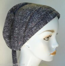 Soft & Warm Flannel Chemo Cancer Hair Loss Wrap Hat 100% Cotton Head Scarves