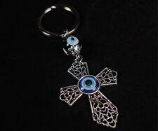 Evil Eye Cross Keychain Ornament  - 22-350 - LB