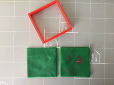 Square Shape Cookie Cutter - choose Your Own Size