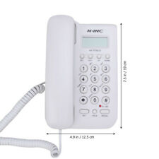 LCD Display Home Office Corded Standard Phone Answering System Wall Mount Phones