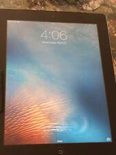 Apple iPad 2 - A1396 Tablet, 16GB Storage, Black Bezel / Silver back.