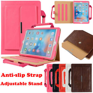 For iPad 2 3 4 9.7 5th 6th Gen Air Pro Mini Case Leather Handbag Wallet Cover