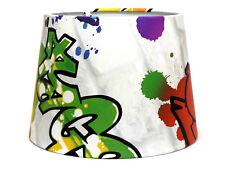Graffiti Lampshade Ceiling Light Shade Boys Bedroom Accessories Skate Park Urban