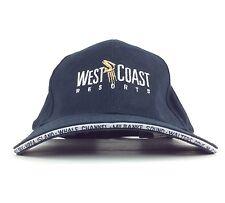 2012 West Coast Resorts Navy Blue Baseball Cap Hat Adj Adult Size Cotton