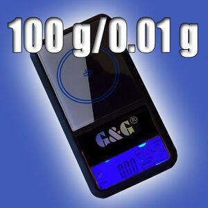 AS 100g/0,01g Feinwaage Goldwaage Taschenwaage Digital-Waage