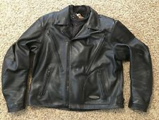 Harley-Davidson® Men's FXRG Series 1, 3-in-1 Armored Heavy wgt Leather Jacket XL