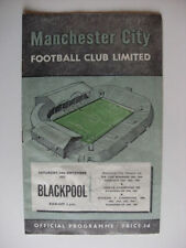 Blackpool Away Team Division 1 Football Programmes