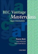 BEC Vantage Masterclass: Course Book, Acceptable, Scott-Barrett, Fiona, O'Drisco