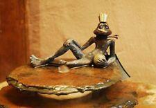 Froschkönig Eugen aus Bronze von Rottenecker | Dekoration aus Bronze
