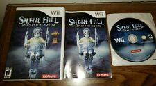 Silent Hill: Shattered Memories COMPLETE CIB Nintendo Wii Tested Working Konami