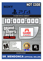 GTA 5 SHARK CARD PS4 Grand Theft Auto V Online $10.000.000 Read Description cash