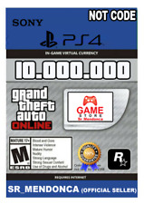 GTA 5 SHARK CARD PS4 Grand Theft Auto V Online $10.000.000 Read Description cash