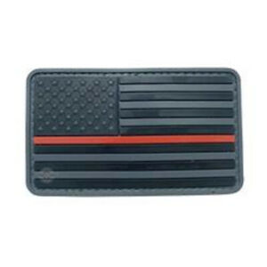 5ive Star Gear 6783000 U.S. Flag Black Red Stripe Morale Patch