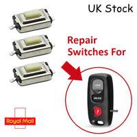 3 Micro Switches for Mazda 2 3 6 323 626 3 Button Remote Key Repair Fob DIY