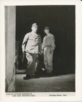 WWII 1945 US Army, Japanese Surrender Photo Japanese officer at McArthurs HDQ