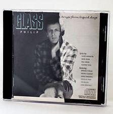 Philip Glass - Songs From Liquid Days - music cd