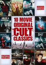10-Film Horror Original Cult Classics Collection DVD Brand New Sealed !
