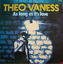 ++THEO VANESS al long as it's love/love me now MAXI 1979 RCA RARE VG++