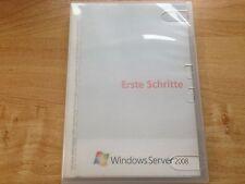 Windows 2008 server Enterprise 32/64 bit incl. 25 Cal 1-8 CPU tedesco p72-03736