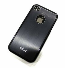 Black Protector Bumper Faceplate Case Cover for AT&T Verizon Sprint iPhone 4S 4