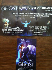 Ghost the musical  smaller ad/flyer  Broadway NYC musical  Caissie Levy Frozen