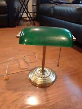 Bankers Lamp - Green Desk Shade