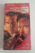 The Ghost and the Darkness (VHS,Movies 1997) Michael Douglas Val Kilmer