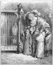 Gustave Dore gigantón Pantagruel 063 A4 Foto impresión