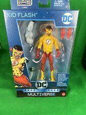 Dc Multiverse Lobo Series Kid Flash (Wallace West) Action Figure Teen Titans