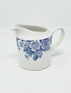 Nautica Bermuda Tableware Creamer Pitcher Blue Floral Portugal Stoneware