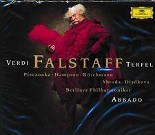 Verdi Falstaff Bryn Terfel CD Claudio Abbado Berlin Philharmonic Shtoda