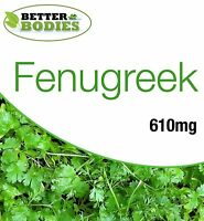 Fenugreek 610mg Seed Extract Health Supplement 100 / 180 / 240 capsules